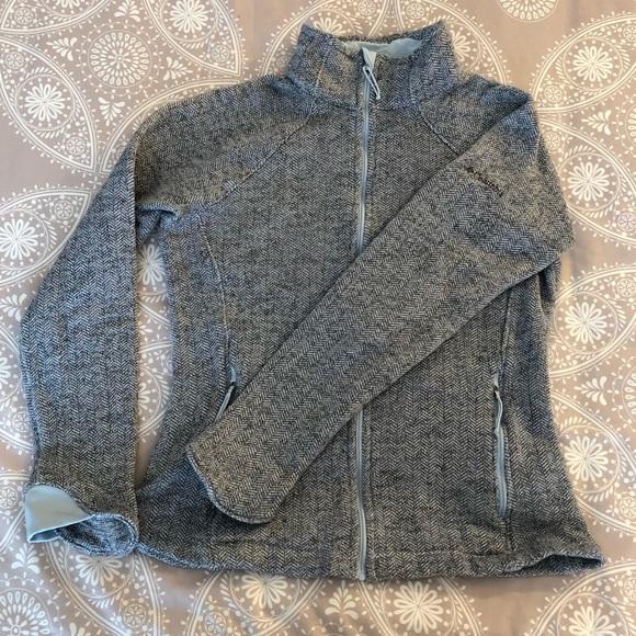 Columbia Gray Herringbone Jacket Optic Got It III